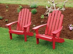 A&L Furniture Co. Amish-Made Pine Kennebunkport Adirondack C