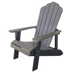 AmeriHome ADCHAIR1 Simulated Wood Outdoor Two Tone Adirondac