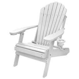 Deluxe Outer Banks Poly Adirondack Chair w/ Cup & Smart Phon