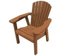 Perfect Choice Furniture Dining Adirondack Chair Camel OFCD-