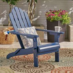 Hollywood Outdoor Foldable Acacia Adirondack Chair by
