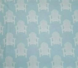Hot Dog Collection BTY P&B Textiles Adirondack Chairs White