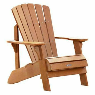 174 adirondack chair synthetic wood