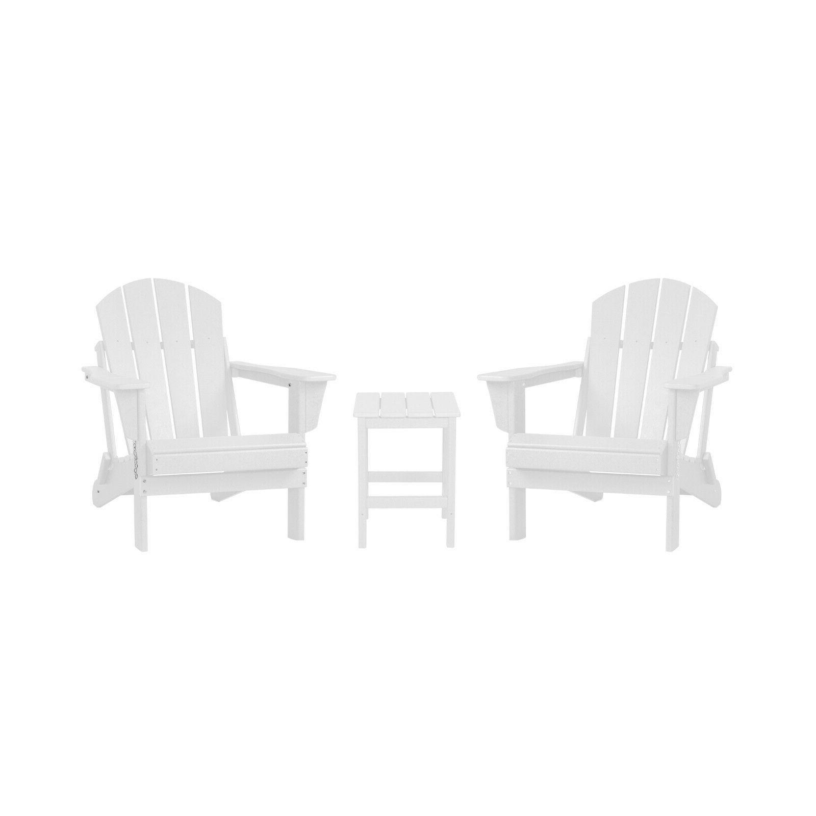WestinTrends Outdoor Poly Chairs