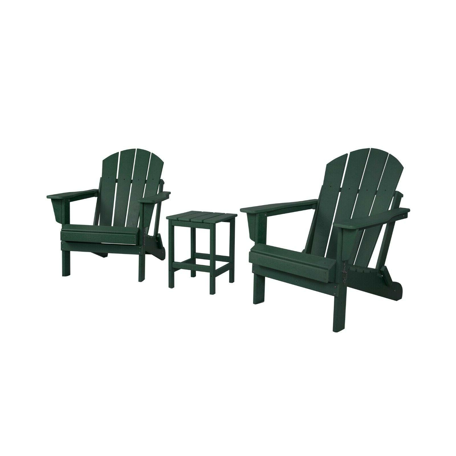 WestinTrends 3PC Outdoor Chairs w/