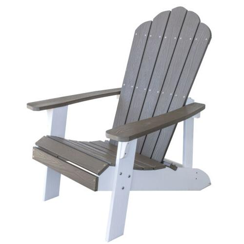 adchair5 simulated wood outdoor two tone adirondack
