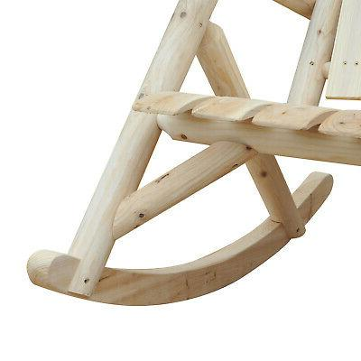 Outsunny Log Chair Single Style