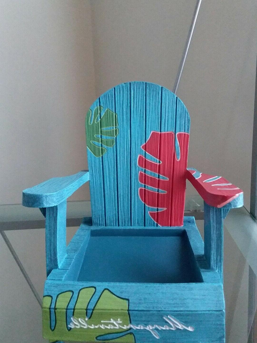 YANKEE MARGARITAVILLE CHAIRS..JAR AND .. NEW