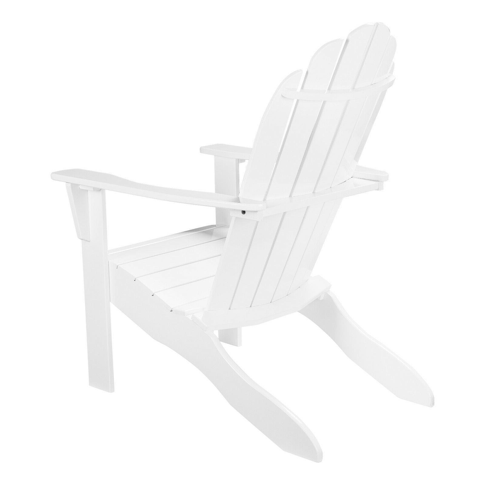 Mainstays Outdoor Chair, White High-Quality