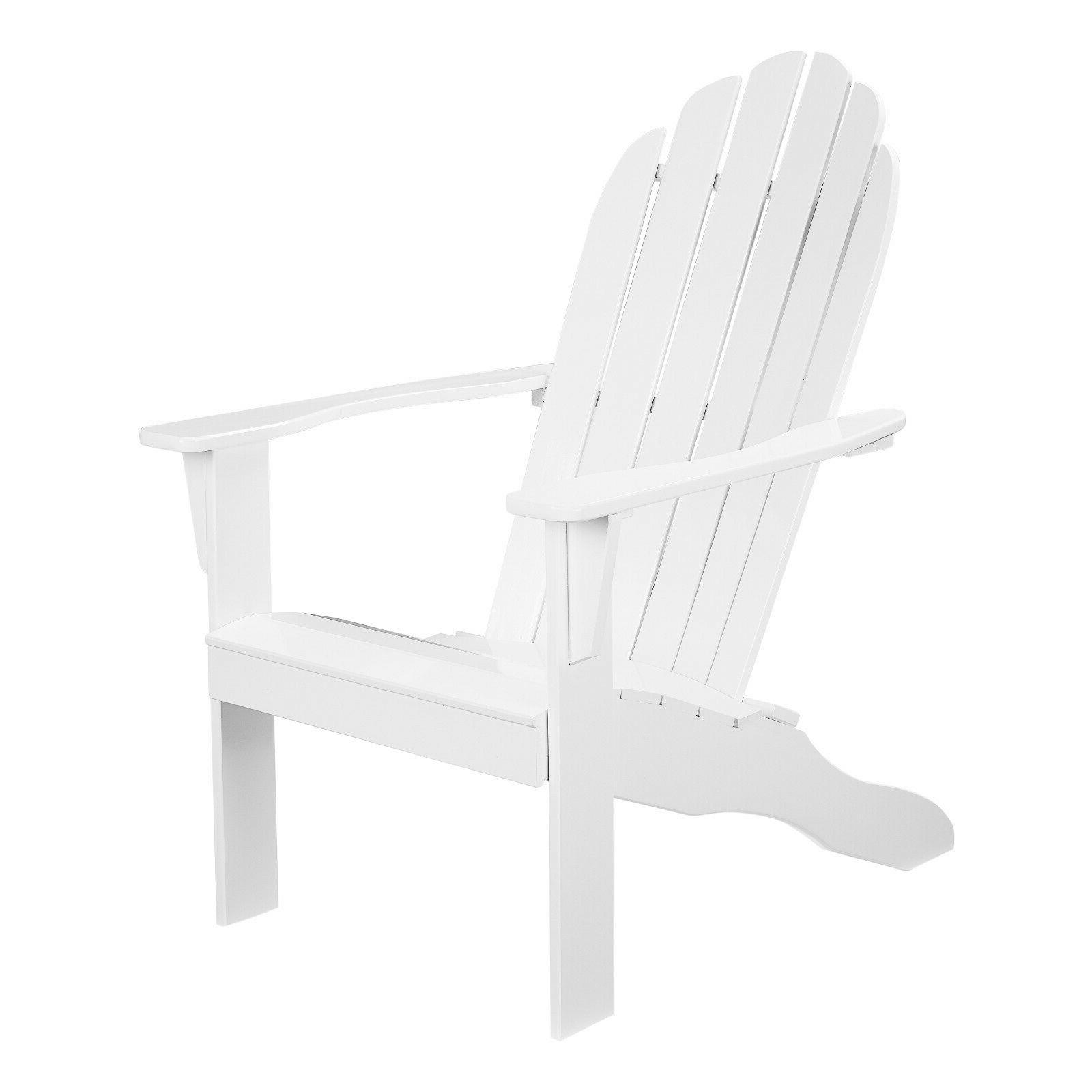 outdoor wood adirondack chair white high quality