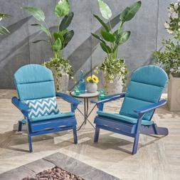 Ocean Outdoor Acacia Wood Folding Adirondack Chairs with Cus