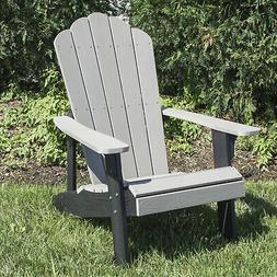 AmeriHome Outdoor Two Tone Adirondack Chair with Durable Sim
