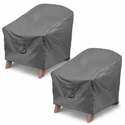 Vailge Patio Adirondack Chair Covers, Heavy Duty Standard -