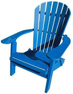 Phat Tommy Recycled Poly Resin Folding Deluxe Adirondack Cha