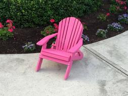 Poly Lumber Toddler Size Adirondack Chair - 9 Color Options-