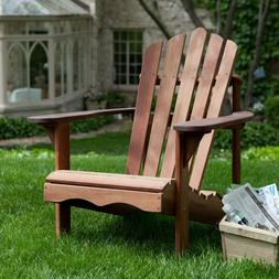 Belham Living Richmond Deluxe Shorea Wood Adirondack Chair Y