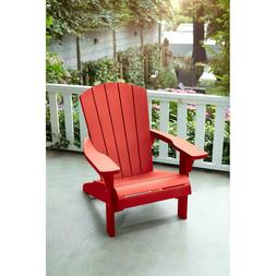Keter Troy Adirondack Red Chair