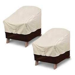 Vailge Patio Adirondack Chair Covers, Heavy Duty Patio Chair