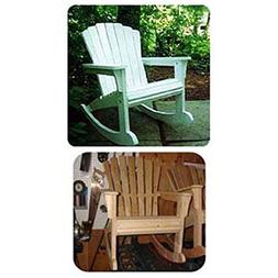 Woodworking Project Paper Plan to Build Rocking Adirondack C